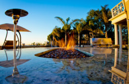 Fire Pit & Water Feature Design & Construction in San Diego