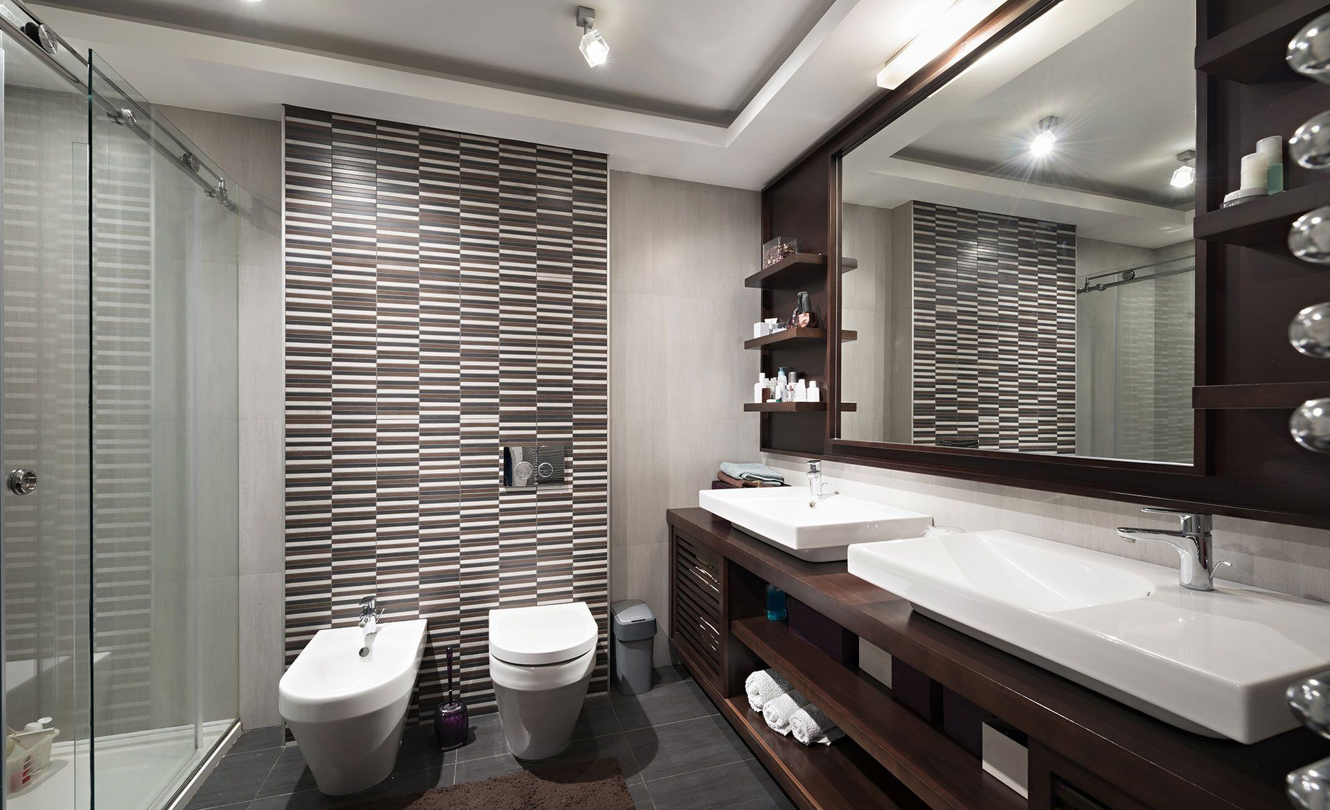 custom bathroom built in san diego home